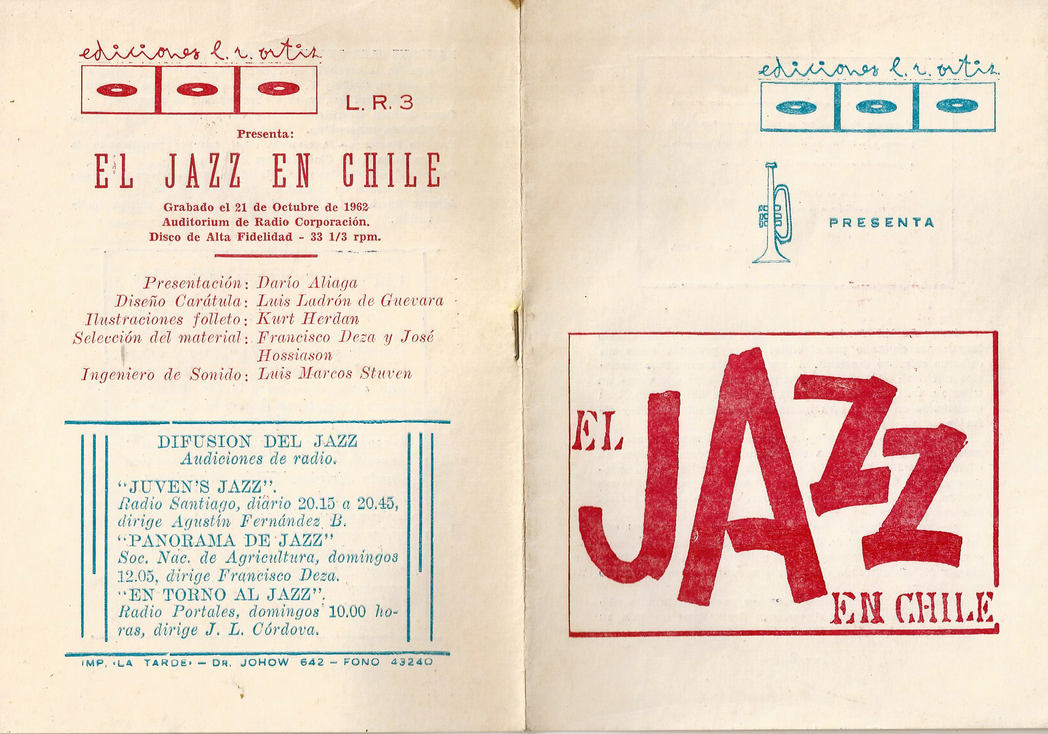 dossier jazz en chile